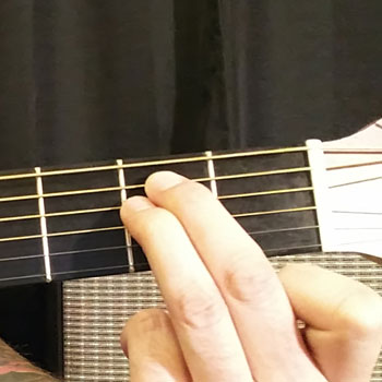 Example of How to Play an Open E Minor Chord on the Guitar