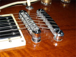 Electric Guitar Bridge and Tail Piece