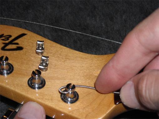 how to change string gaugew